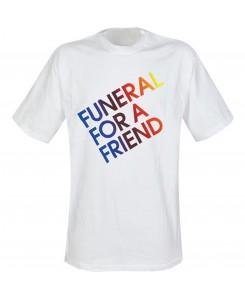 Martz - Funeral for a friend - Logo Shirt Weiß