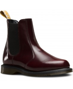Dr. Martens - Vegan Flora Cambrigde Brush 24178600 Cherry Red