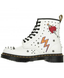 Dr. Martens - 1460 Smooth 24207100 Rockabilly White