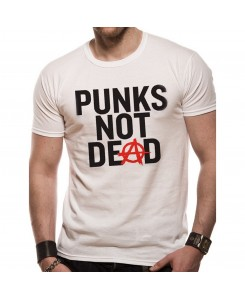 CID - Honeycomb - Punks not Dead T-Shirt Weiß
