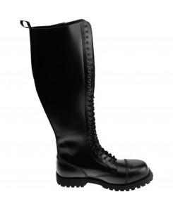 Boots & Braces - 30-Loch schwarz
