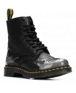 Dr. Martens - 1460 Pascal Flame Coated Glitter+Chrome Paint Metallic 24034041