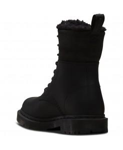 Dr. Martens - 1460 Kolbert Snowplow WP +Waxy Waterproof Suede 24015001 Black