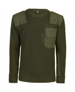 Brandit - Bundeswehr Pullover Import 5018 1-oliv