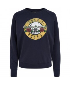 Only - onlGUNSNROSES L/S SWEAT ESS 15143299 Sky Captain/Roses