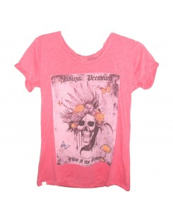 Yakuza Premium - T-Shirt 2534 pink Rise of the crooks