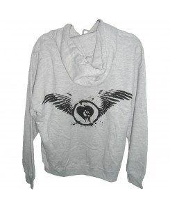 CID - Rise Against - Wings Hoodie Grau