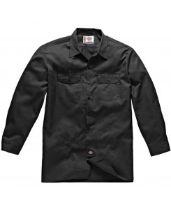 Dickies - 574BK Long Work Shirt Schwarz