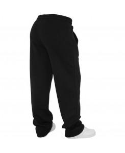 Urban Classics - TB078 Schwarz, Loose-Fit Sweatpants
