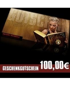 100 EUR Geschenkgutschein