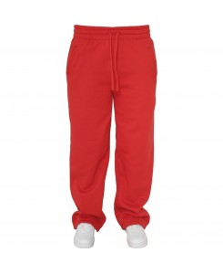 Urban Classics - TB078 Red, Loose-Fit Sweatpants