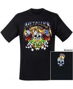 CID - Metallica - Checkered Flag Logo T-Shirt