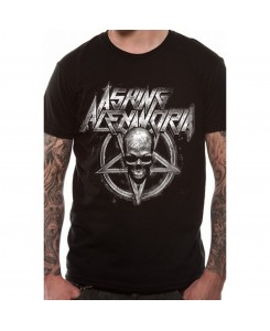 CID - Asking Alexandria - Death Metal LOGO Schwarz