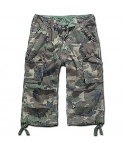 Brandit - Urban Legend Shorts 3/4 Woodland Cargo