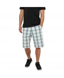 Urban Classics - TB371 wht/tur/blk, Checked Shorts