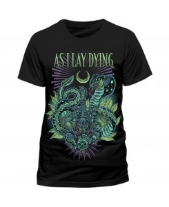 CID - AS I LAY DYING - Snakes T-Shirt Black