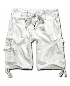 Brandit - Vintage Shorts Classic 2002-7 weiss Cargo