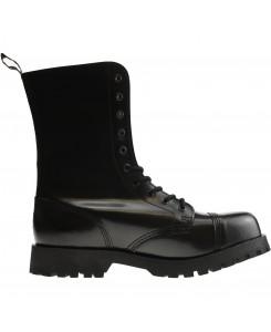 Boots & Braces - 10-Loch schwarz