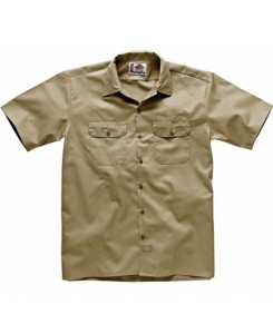 Dickies - 1574KH Short Work Shirt Khaki
