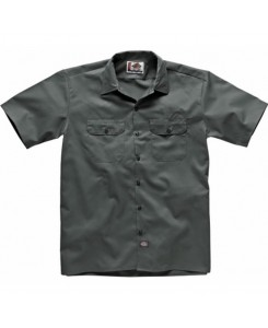 Dickies - 1574CH Short Work Shirt Charcoal