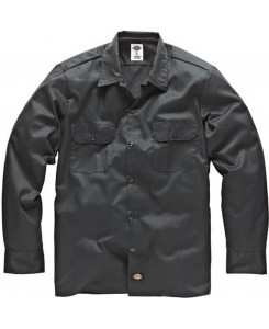 Dickies - 574CH Long Work Shirt Charcoal