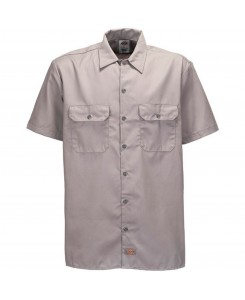 Dickies - 1574 Short Work Shirt Silver Grey