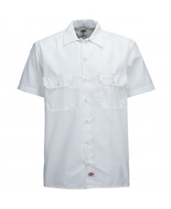 Dickies - 1574 Short Work Shirt White