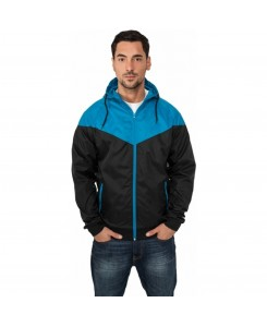 Urban Classics - TB148 black/türkis - Arrow Windrunner