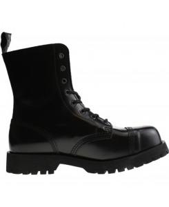 Boots & Braces - 8-Loch schwarz