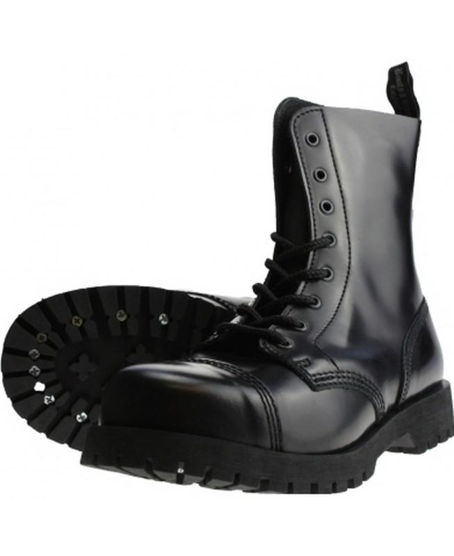Boots & Braces 8 Loch Stiefel Rangers Schwarz
