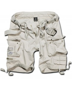Brandit - Savage Vintage Shorts 2001-12 Old White