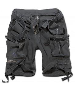 Brandit - Savage Vintage Shorts 2001-2 Schwarz